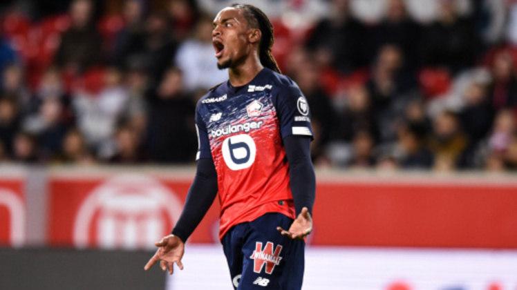 ESFRIOU - enato Sanches fez uma grande temporada com a camisa do Lille. Com clubes interessados em seu futebol, o português pode ficar na França. Gerard Lopez, presidente do clube, revelou que rejeitou ofertas de R$ 400 milhões pelo jogador.