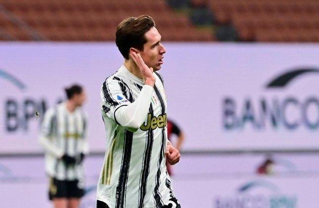 ESFRIOU - Especulado em diversos clubes europeus, como o Liverpool, Chelsea e alguns clubes alemães, a Juventus não quer se desfazer de Chiesa e considera o jogador intocável dentro do elenco, segundo Fabrizio Romano.