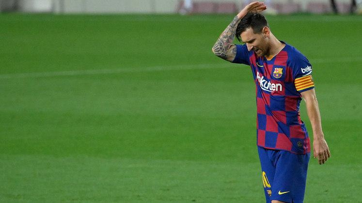 ESFRIOU: Lionel Messi não jogará na Inter de Milão. Em entrevista à