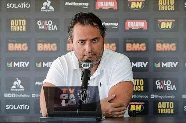 ESFRIOU - O diretor de futebol do Atlético-MG, Alexandre Mattos, disse que a vinda do zagueiro paraguaio Junior Alonso conclui uma primeira fase na aquisição de reforços para o elenco alvinegro. Portanto, somente com boas oportunidades de negócio o Galo vai contratar.