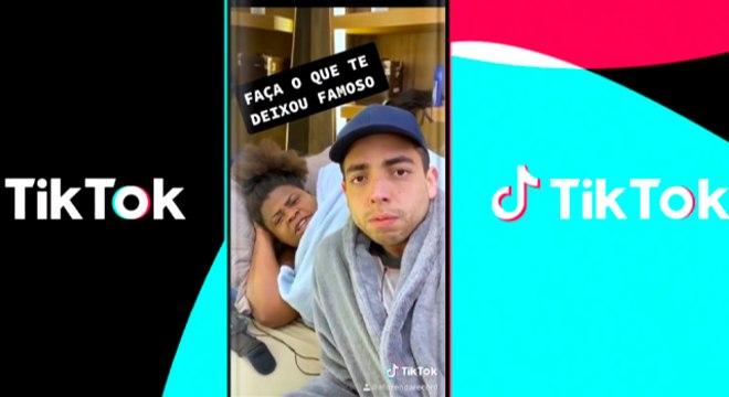 Lucas Selfie e Jojo Todynho interagem no Espaço TikTok