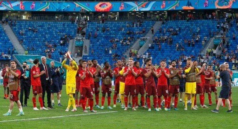 A Espanha, agora na sua quinta aparição nas semis