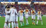 Espanha, camisa feia, Euro 2016,