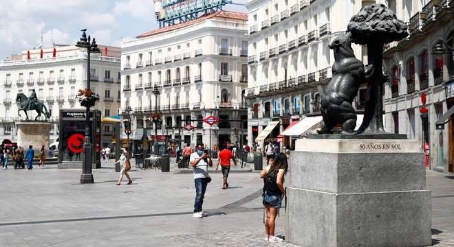 Madrid concentra um terço de todos os casos novos na Espanha