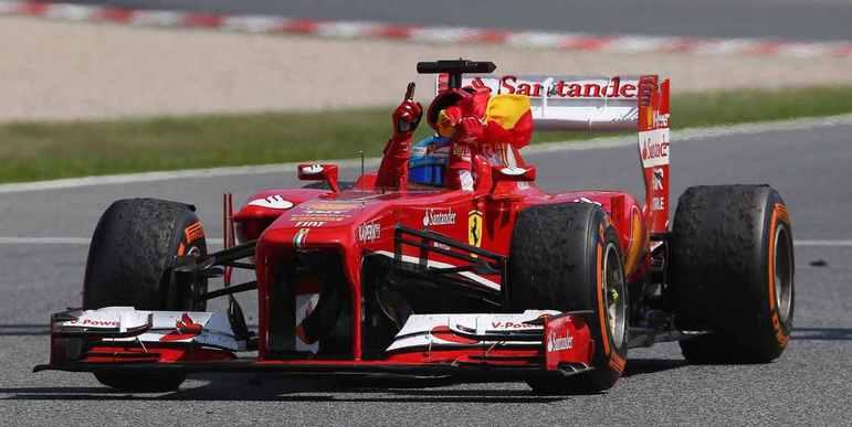 Espanha - Fernando Alonso - GP da Espanha 2013.