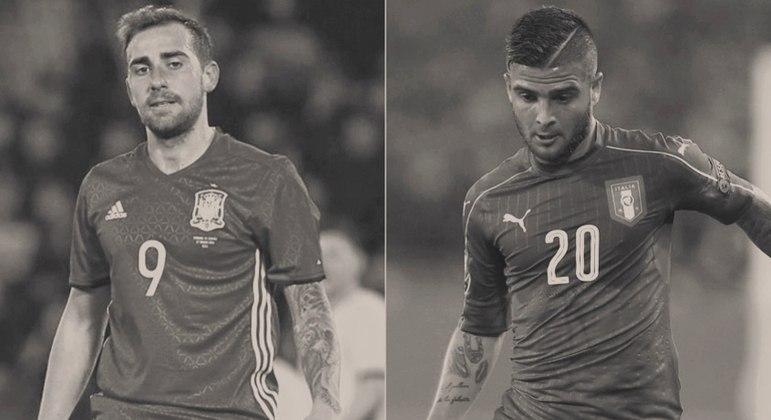 Espanha e Itália, a confusão em preto-e-branco