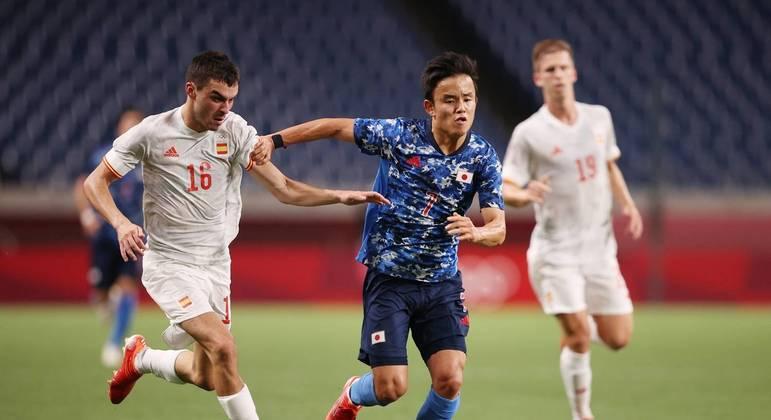 Japão se superou no jogo, mas foi surpreendido com coelho da cartola de Asensio