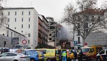 Testemunhas contam detalhes de explosão em prédio de Madri