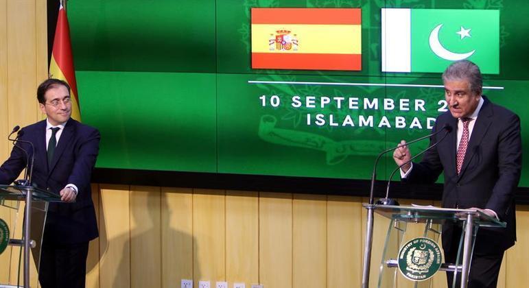 Espanha vai retirar 200 pessoas do Afeganistão a partir da fronteira com o Paquistão