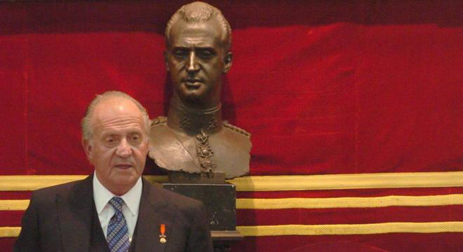 Foi desmentida a informação que o monarca estaria em Portugal