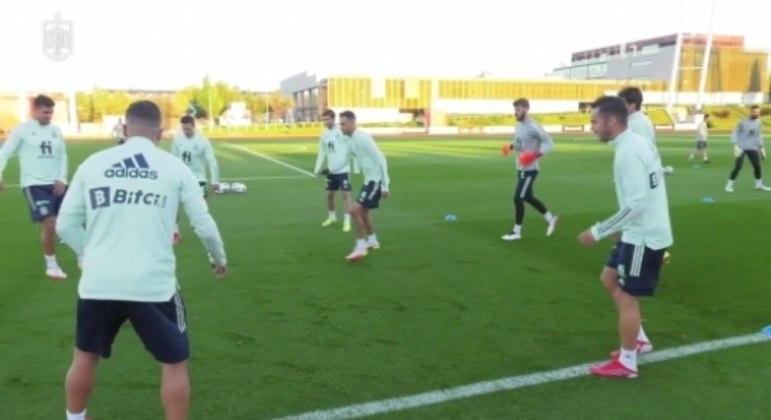 Espanha - treino