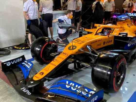 Espanhol está se despedindo da McLaren neste fim de semana.