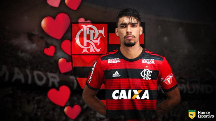 Especial Dia dos Namorados: cria da base do Flamengo, Lucas Paquetá ainda não reencontrou a felicidade na Itália. Deve estar sentindo falta do ex-clube