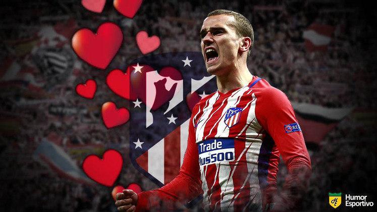 Especial Dia dos Namorados: o término de Antoine Griezmann com o Atlético de Madrid é recente, mas ainda é difícil aceitar vê-lo com a camisa do Barcelona. Ainda não se sabe se ele será feliz no novo relacionamento, mas o ex marcou sua história