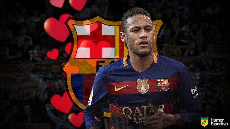 Especial Dia dos Namorados: um término tão doloroso que todos esperam a reconciliação. Neymar e Barcelona foram tão felizes juntos que o retorno parece questão de tempo