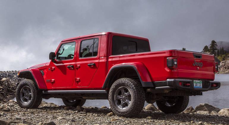 Jeep oferecerá o Gladiator nas versões Overland e Rubicon no mercado argentino