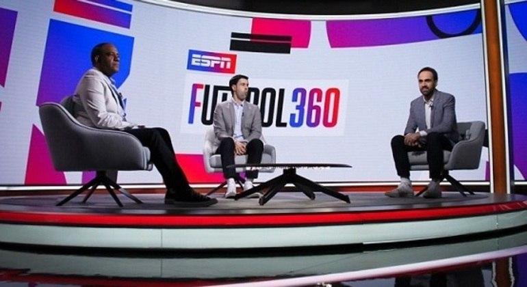 """""""Futebol 360"""" é um dos novos programas da ESPN Brasil"""