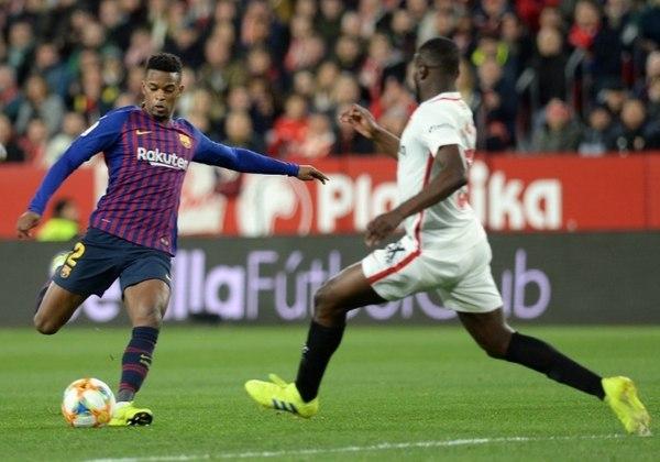 ESQUENTOU: A caminho do Wolverhampton, Semedo não treinou com o catalães nesta segunda-feira (21). Segundo a