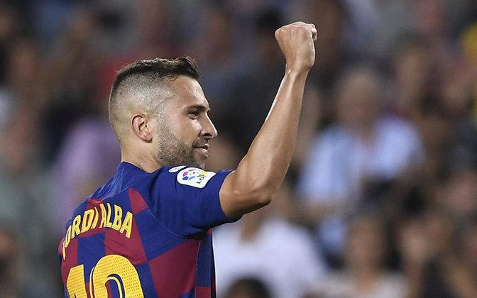 ESQUENTOU - A Inter de Milão está interessada na contratação de Jordi Alba, lateral esquerdo do Barcelona, segundo o