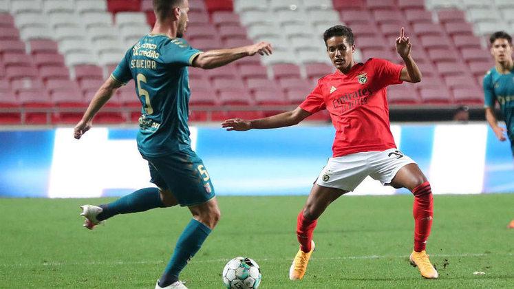 ESQUENTOU - A negociação entre Benfica e Shakhtar Donetsk pela transferência de Pedrinho esbarra em uma barreira de dois milhões de euros (R$ 12,4 milhões), segundo o
