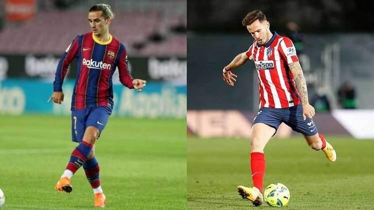 ESQUENTOU - As negociações entre Barcelona e Atlético de Madrid envolvendo a troca de Griezmann por Saúl se encontram interrompidas, segundo o