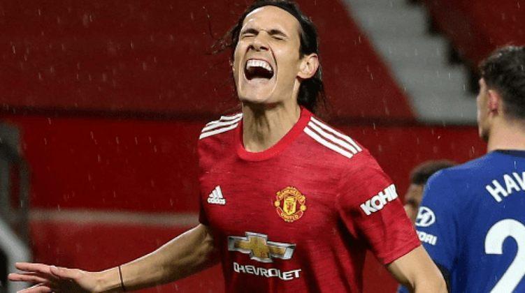 ESQUENTOU - Autor de dois gols na vitória do Manchester United sobre a Roma, no jogo de ida das semifinais da Liga Europa, na última quinta-feira, o atacante Edinson Cavani está perto de renovar seu contrato com os Diabos Vermelhos.