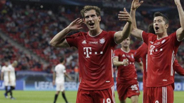 ESQUENTOU - Com contrato até junho de 2022 com o Bayern de Munique, o meio-campista Leon Goretzka está perto de renovar seu vínculo com o clube bávaro. De acordo com informações da imprensa germânica, o novo acordo do atleta será por mais quatro temporadas. Segundo a revista