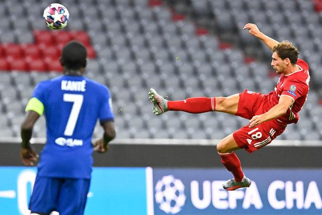 ESQUENTOU - Conforme o jornalista Fabrizio Romano, o Bayern de Munique planeja renovar o contrato de Goretzka após o meia se firmar na equipe titular de Hans Flick.
