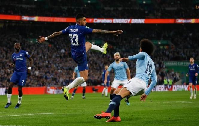 ESQUENTOU - De acordo com a Gazzetta dello Sport, a Inter de Milão e a Juventus devem disputar  contratação do lateral do Chelsea, Emerson Palmieri.