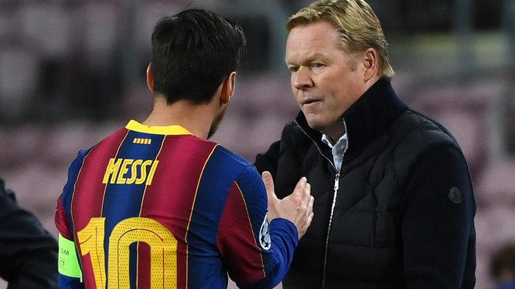ESQUENTOU - De acordo com a RAC1, Ronald Koeman está praticamente descartado pelo Barcelona do comando técnico. As chances de ocorrer uma demissão são de 99%.