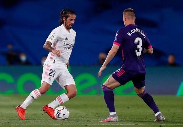 ESQUENTOU - De acordo com o Diario AS, Isco não está mais tão certo em deixar o Real Madrid, pensando em ficar no clube Merengue e buscar uma briga no time titular