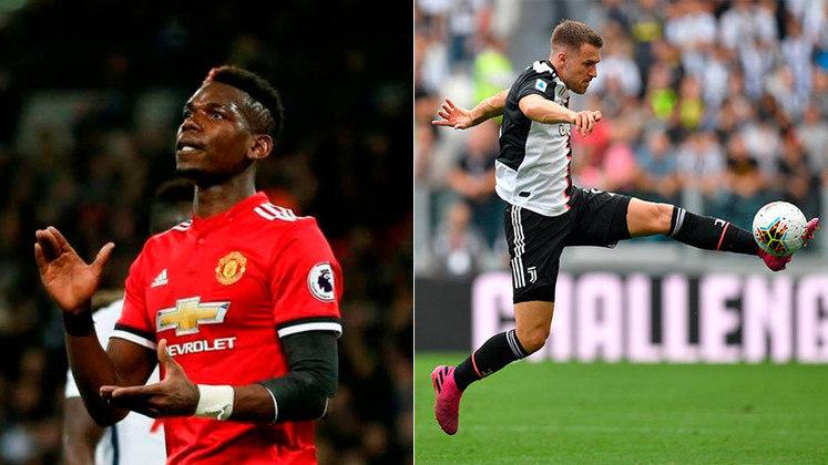 ESQUENTOU - Depois de deixar o Arsenal após 11 anos, Ramsey se juntou à Juventus no ano passado. Porém o galês não conseguiu performar em alto nível. E, dessa forma, a 'Calciomercato' informa que a equipe de Turim está disposta a oferecê-lo em uma possível troca com o Manchester United por Paul Pogba.