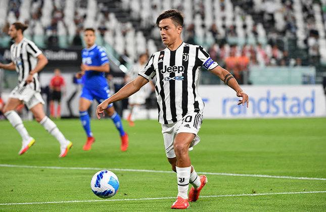ESQUENTOU - Dybala está praticamente de contrato novo com a Juventus. Após negociações entre o meia argentino e o clube italiano, o acordo está próximo de ser selado e o vínculo entre as partes estenderia mais quatro anos, terminando em junho de 2026, segundo César Luis Merlo.