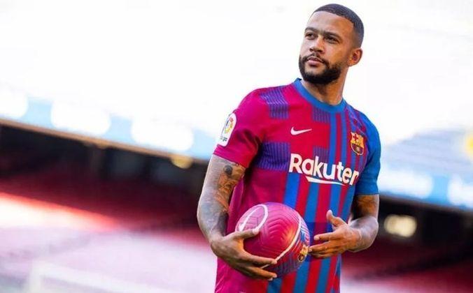 ESQUENTOU - Memphis Depay não possui cláusula de renovação unilateral em seu contrato com o Barcelona, revelou o