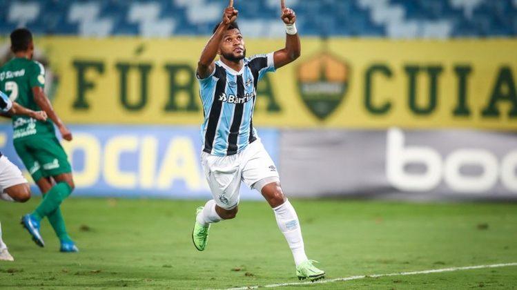 ESQUENTOU - Miguel Borja foi embora do Junior Barranquilla, mas o Tiburón não sai do coração do atacante que está no Grêmio. Em entrevista ao Habla Deportes, o camisa 9 se declarou ao clube colombiano, que defendeu nas temporadas de 2020 e 2021.