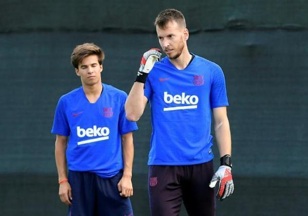 ESQUENTOU - Neto, goleiro reserva do Barcelona, quer deixar a Catalunha, segundo a