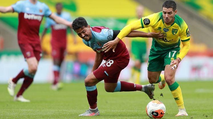 ESQUENTOU - O Arsenal intensificou as buscas pelo atacante Emiliano Buendia, do Norwich, para a próxima temporada, segundo o portal