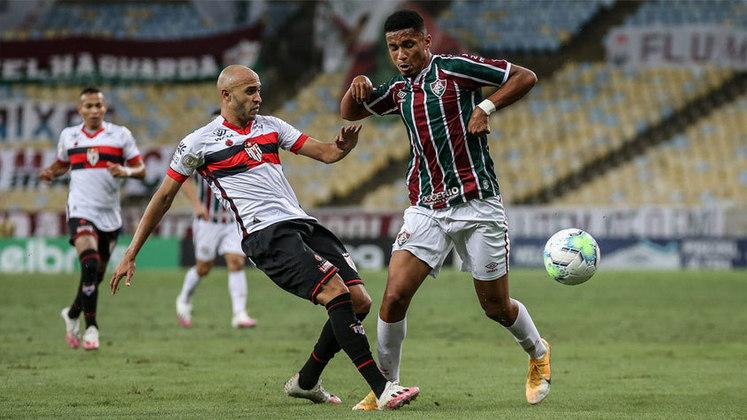 ESQUENTOU - O Atlético de Madrid pensa em incorporar o atacante Marcos Paulo, de saída do Fluminense, no elenco principal na próxima temporada, segundo o jornal