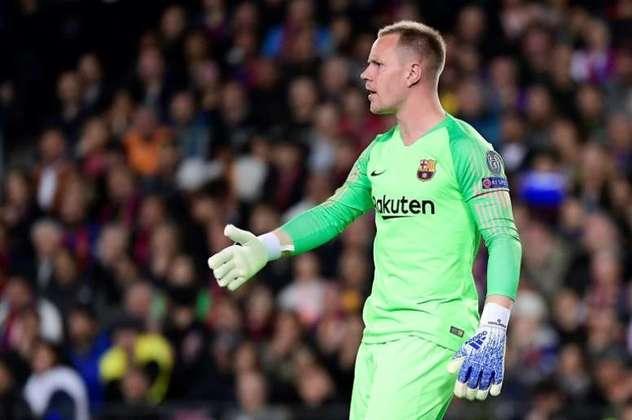 ESQUENTOU - O Barcelona e o goleiro Ter Stegen estão perto de anunciar a renovação de contrato do goleiro até 2025.