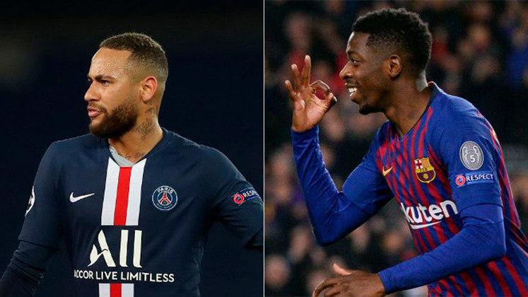 ESQUENTOU - O Barcelona vive um dilema com Dembélé. As lesões excessivas o deixaram de fora de grande parte da temporada. Apesar disso, o Paris Saint-Germain surge como interessado e isso poderia facilitar no negócio de Neymar, de acordo com o