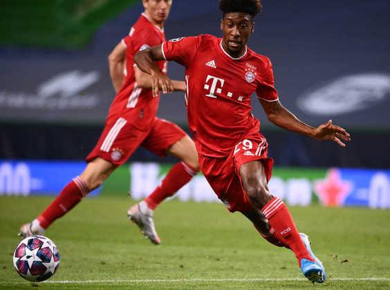 ESQUENTOU - O Bayern de Munique pede cerca de 77 milhões de libras (R$ 531 milhões) para vender Coman, segundo o