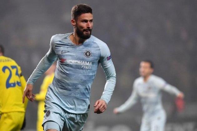"""ESQUENTOU - O Chelsea está disposto a deixar o atacante Giroud sair do clube em janeiro como forma de agradecimento aos serviços prestados após o veterano admitir preocupação com a falta de minutos em campo na equipe de Frank Lampard, segundo o """"The Athletic""""."""