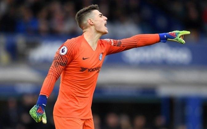 ESQUENTOU: O Chelsea tenta encontrar outro clube para Kepa Arrizabalaga (foto). De acordo com o