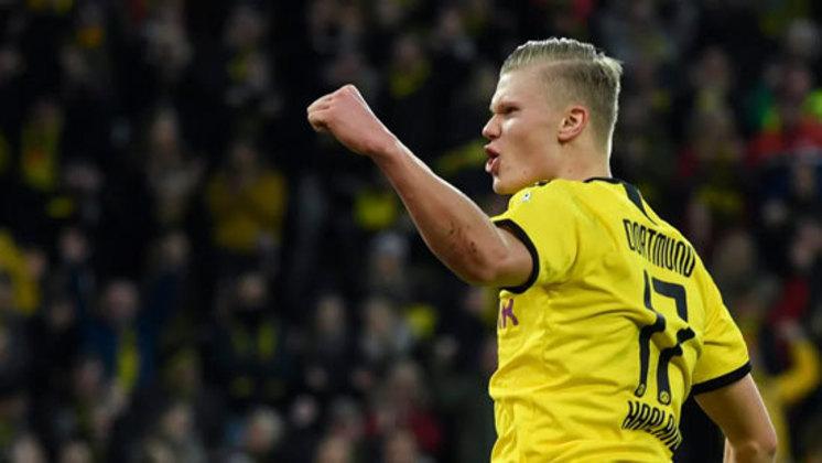 ESQUENTOU - O diretor esportivo do Borussia Dortmund, MIchael Zorc, brincou sobre o futuro de Erling Haaland. Ao ser questionado pela