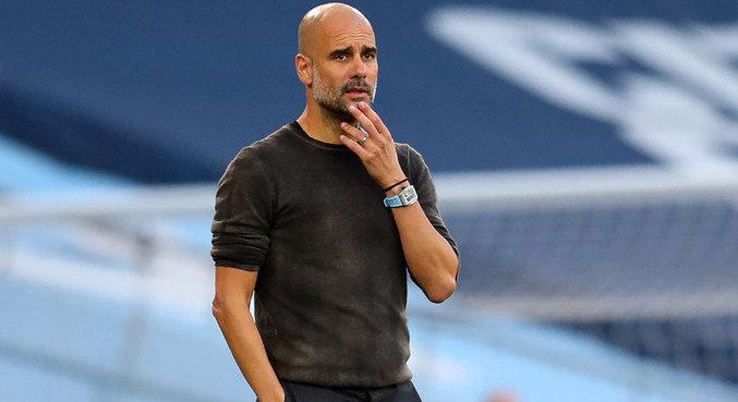 O técnico espanhol Pep Guardiola participou de evento da XP