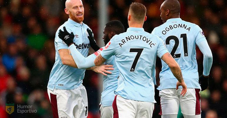 ESQUENTOU - O técnico do West Ham, David Moyes, pediu o retorno do atacante Marko Arnautovic para a equipe de Londres, de acordo com o Daily Express