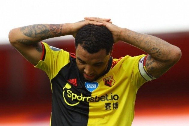 ESQUENTOU - O The Athletic informa que Troy Deeney pode estar de saída do Watford e se mudar para o Birmingham FC.