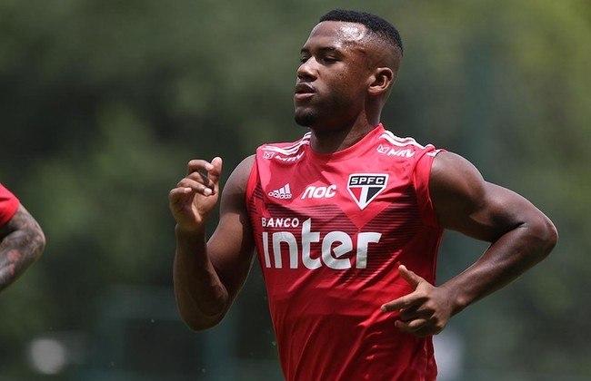 ESQUENTOU - O volante Luan Santos recebeu propostas para deixar o São Paulo