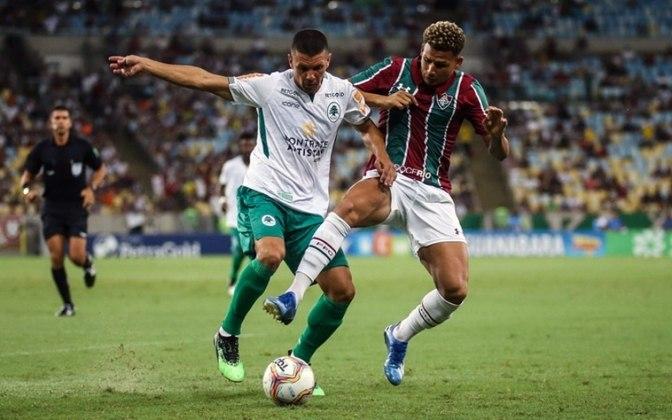ESQUENTOU - Outro que não deve ficar no Flu é o atacante Felippe Cardoso. O jogador chegou ao Fluminense no final de dezembro de 2019. Ele está emprestado por um ano pelo Santos e tinha um valor de venda fixado ao final do vínculo. Neste ano, fez seis partidas, todas pelo Carioca, e marcou um gol.