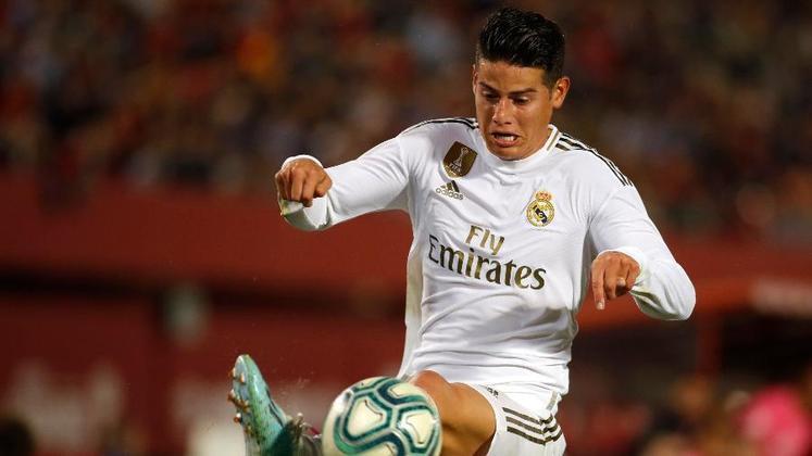 ESQUENTOU: Parece que a novela novela da saída de James Rodríguez do Real Madrid está chegando ao fim. Pelo menos é o que garante a imprensa inglesa, que já dá como certa a ida do colombiano para disputar a Premier League, com contrato já apalavrado com o Everton.